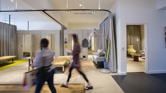 b47babcc7b Primeira loja em estilo showroom da Nordstrom, em Los AngelesElizabet  Lippman/NYT