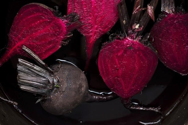 Beterraba concentra um dos mais fortes pigmentos da natureza | John Karsten Moran/NYT