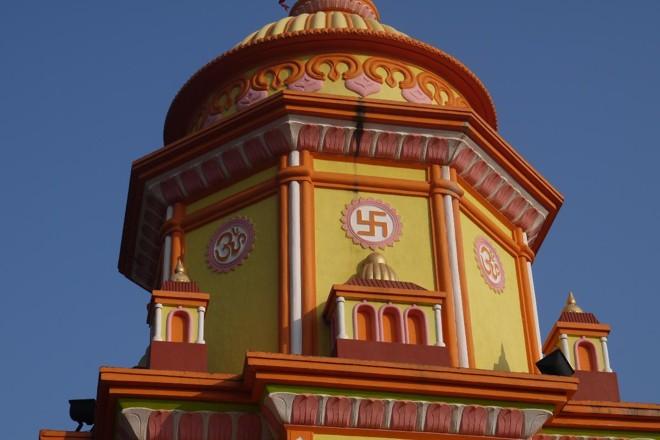 Suástica estampada em templo hindu | BigStock