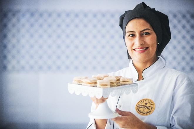 Lucilaine Lima largou a carreira de professora em escola para criar o Instituto Gourmet | Fábio SeixoDivulgação/Instituto Gourmet