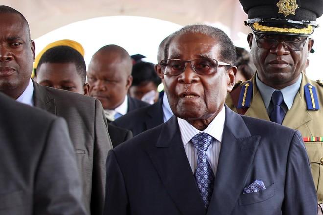 Robert Mugabe está no poder há mais de 37 anos | Godfrey Marawanyika/Bloomberg