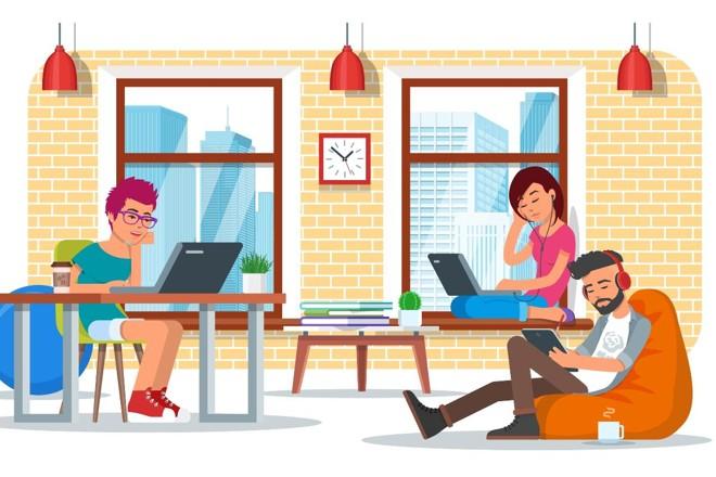 Alguns coworkings oferecem a possibilidade de registrar e formalizar a empresa com o endereço deles, para fins de alvará. | Bigstock