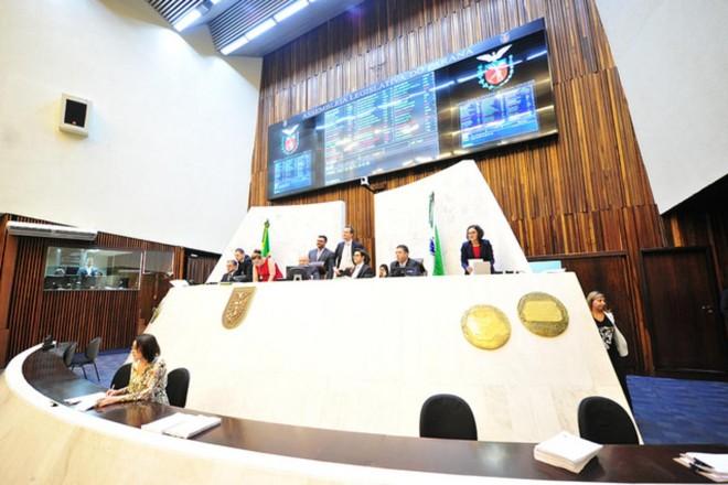 Sessão plenária da Assembleia Legislativa. | Pedro de Oliveira/Arquivo Alep