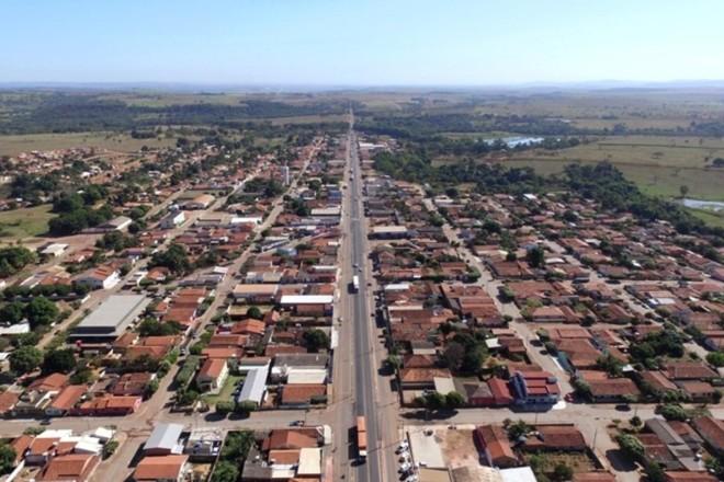 Vista aérea de Juscimeira (MT), onde o caso aconteceu | Prefeitura de Juscimeira