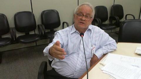Detalhe do vídeo do depoimento de Abib Miguel, conhecido como Bibinho, à Justiça. | Reprodução/
