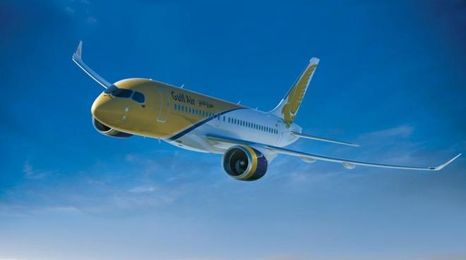 Avião CS100, da linha C-Series, da Bombardier. Airbus comprou uma participação majoritária na linha. | Divulgação/Bombardier
