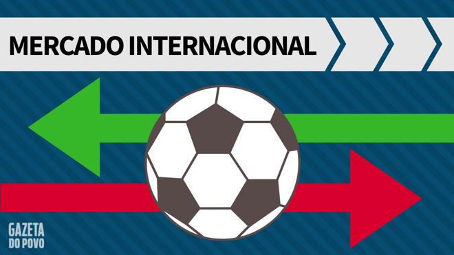 Mercado da bola internacional:janela europeia. | /