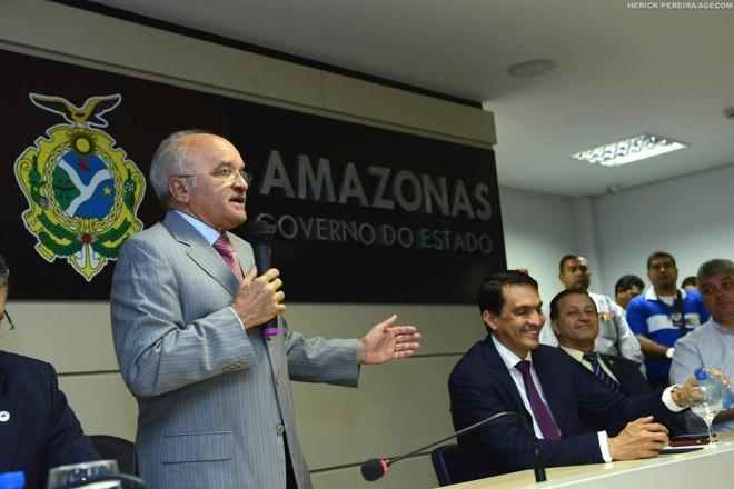 O ex-governador do Amazonas José Melo (Pros), em imagem de 2014 | Herick Pereira/Agecom