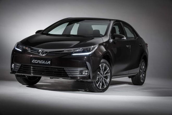 Mesmo com queda de 6,6%, Toyota Corolla foi o mais vendido pelo segundo ano consecutivo. | Divulgação/Toyota