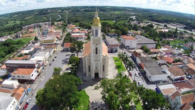 A cidade de Araucária, na Região Metropolitana de Curitiba   Divulgação/Paulo Cordeiro/SMCS