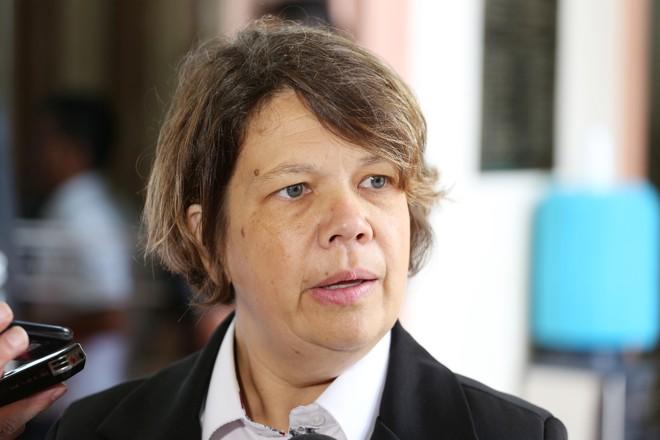 A vereadora de Curitiba Katia Ditttrich (SD), mais conhecida como Katia dos Animais de Rua | Rodrigo Fonseca/Câmara de Curitiba