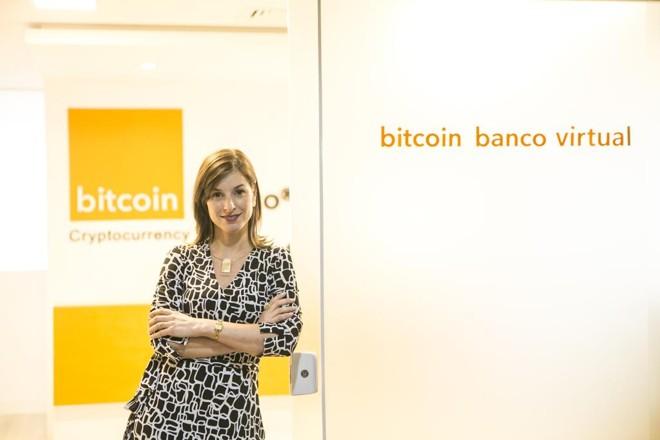 Heloisa Ceni, vice-presidente do Grupo Bitcoin Banco: empresa investe em serviços ligados às criptomoedas | Marcelo Andrade/Gazeta do Povo