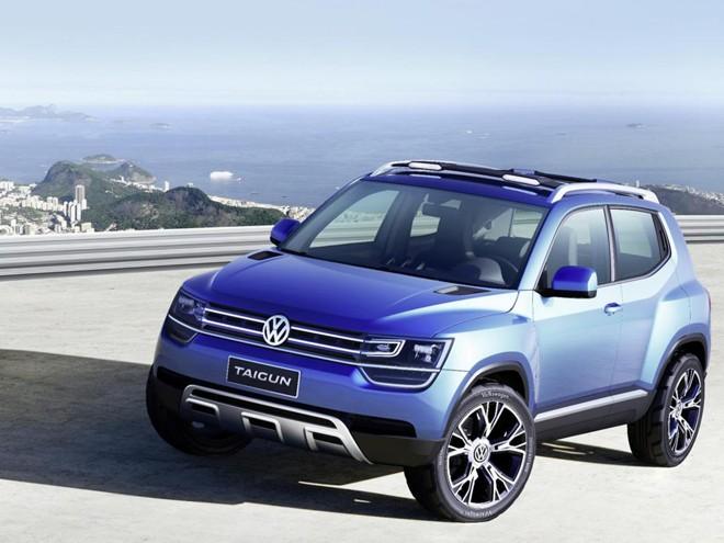 VW T-Track: conceito apresentado no Salão de São Paulo servirá como base para o futuro SUV.   Divulgação/VW