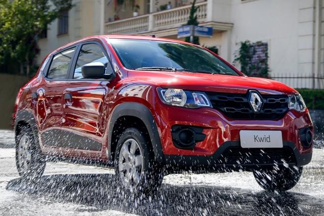 Recall do Renault Kwid é o segundo em dois meses . Carro pode apresentar problemas no berço do motor.   Rodolfo Buhrer/Renault