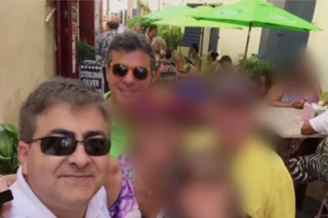 Processo do MP-PRmostra fotos de Richa ao lado de Maurício Fanini em momentos de lazer | Reprodução/MP-PR