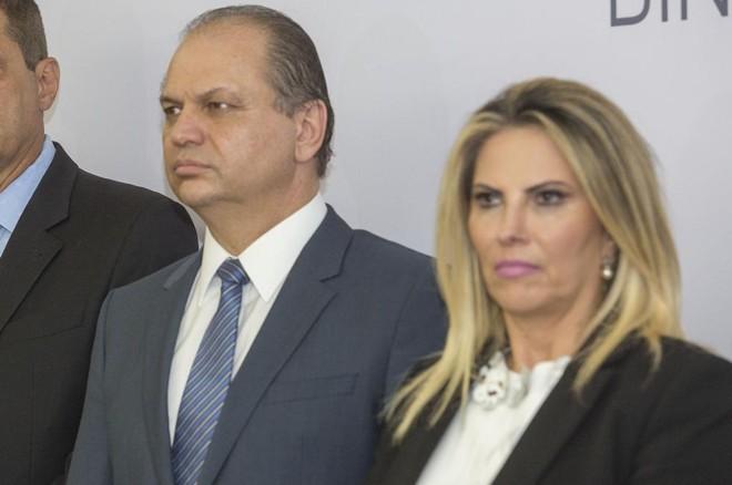 Ricardo Barros e Cida Borghetti | Divulgação/Itaipu