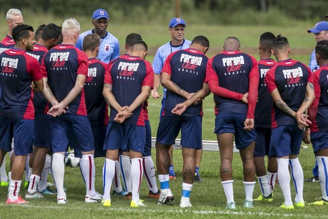 Em três partidas doEstadual,Tricolor conquistou apenas um ponto. | Marcelo Andrade/Gazeta do Povo