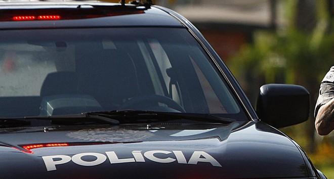Policiais do Bope estão na Lapa à procura dos assaltantes. | JONATHAN CAMPOS/Gazeta do Povo