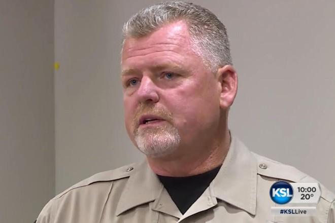 O xerife do condado de Washington, Aaron Thompson | Reprodução