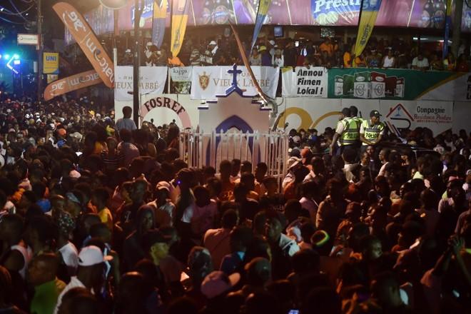 Carnaval no Haiti: país dá primeiros sinais de recuperação | HECTOR RETAMAL/AFP