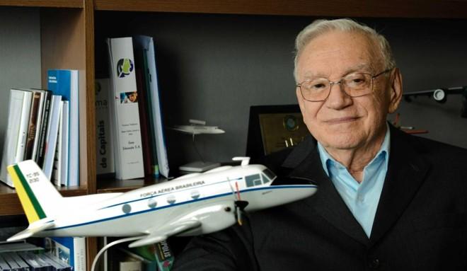 Ozires Silva, ex-presidente e um dos fundadores da Embraer, | ISAE/Divulgação