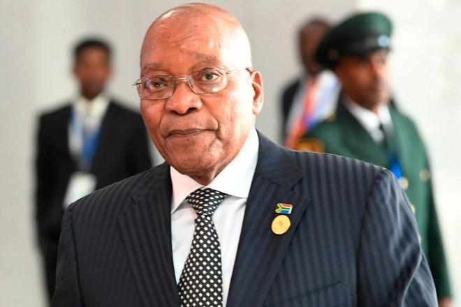 O partido de Zuma e partidos da oposição querem sua renúncia. Ele, no entanto, nega deixar o cargo | SIMON MAINA/AFP