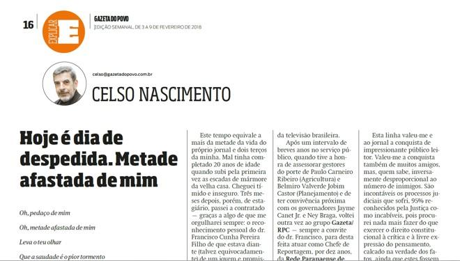 | Reprodução/Gazeta do Povo