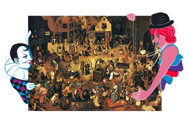   Robson Vilalba/Thapcom sobre Pieter Brueghel