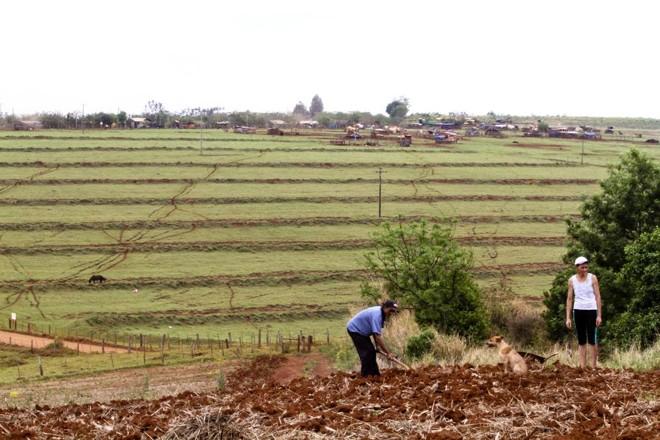 Emissão de 26.523 títulos definitivos de domínio de terra em 2017 é dez vezes superior à média anual observada entre 2003 e 2016 | Arquivo / Gazeta do Povo