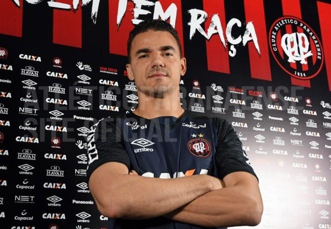 Felipe Alves, novo goleiro do Atlético | Divulgação/Atlético-PR/