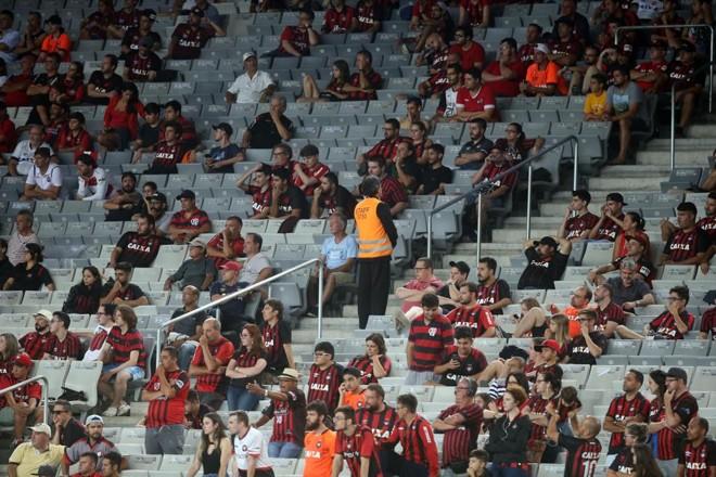 Atlético tem média de 5.780 pagantes. | Albari Rosa/Gazeta do Povo