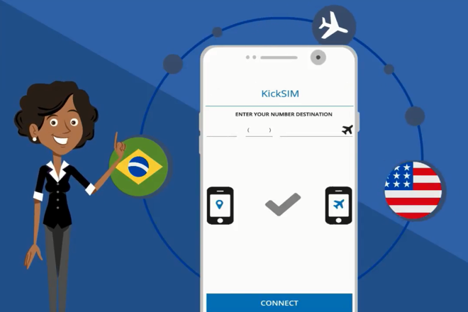 Kicksim faz sinal do celular viajar entre países como se fosse uma ligação local | Kicksim
