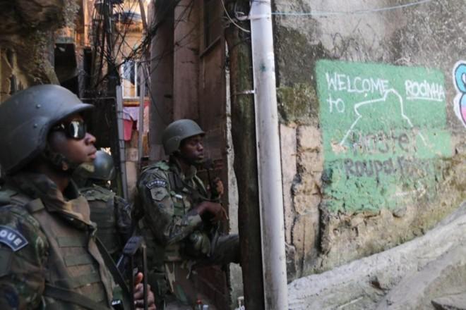 Favela está ocupada desde setembro de 2017. | Vladimir Platonow/Agencia Barsil