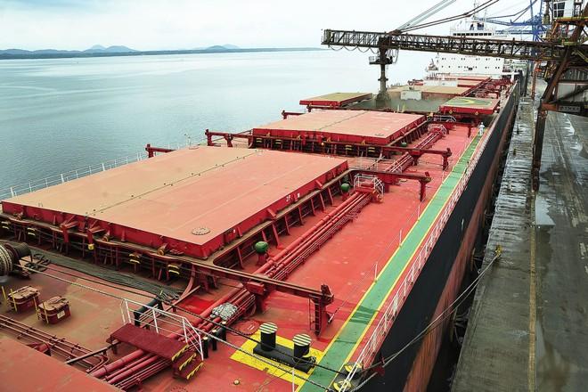 Jubilant Devotion: o maior navio do mundo em capacidade de carregamento de grãos | IvanBueno/Appa