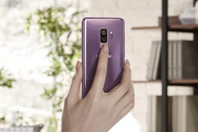 Detalhe do Galaxy S9+. | Samsung/Divulgação