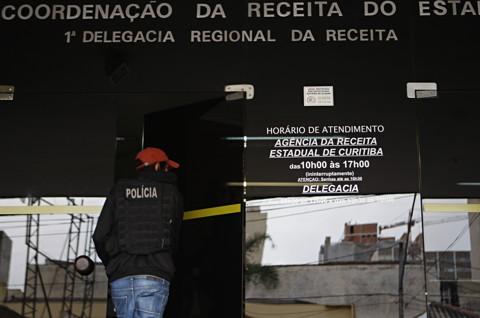 Sede da Recita Estadual, no Centro de Curitiba:desvio milionário em sonegação de ICMS. | Aniele Nascimento/Gazeta do Povo