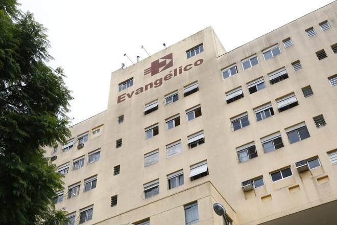 Fachada do Hospital Evangélico de Curitiba | Aniele Nascimento/Gazeta do Povo/Arquivo
