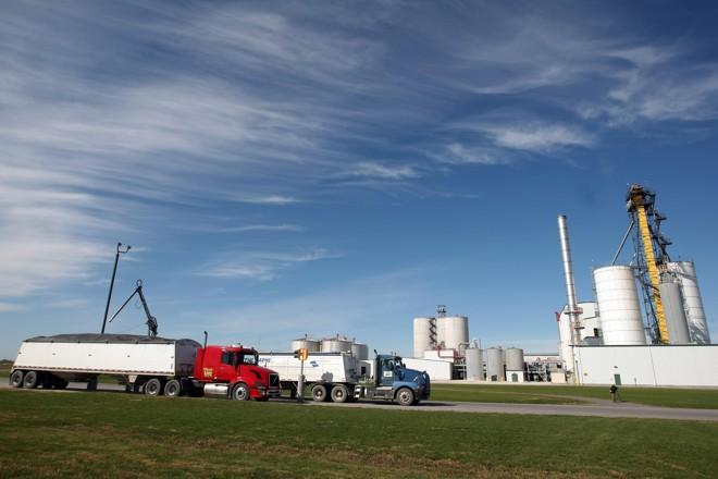 Usina de etanol de m ilho em Nevada, estado de Iowa | Albari Rosa/Gazeta do Povo