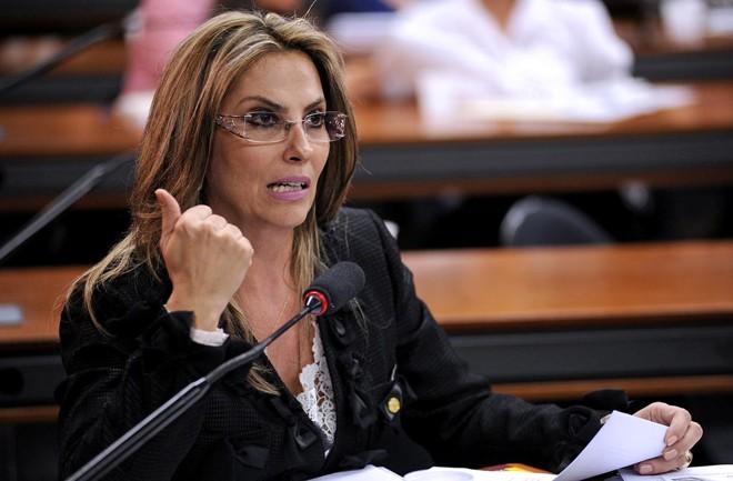 Afutura governadora do Paraná, Cida Borghetti, quando atuava na Câmara dos Deputados | Brizza Cavalcante /Câmara dos Deputados/Arquivo