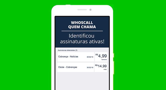 """8131e024c """"Recarga Protegida"""", novo recurso do Whoscall.   Gogolook/Divulgação. """""""