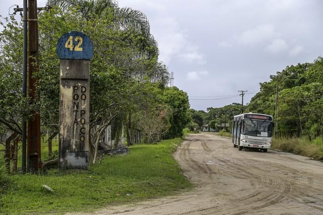 Terrenos na região de Ponta do Poço, em Pontal, estão entre os beneficiados. | Jonathan Campos/Gazeta do Povo