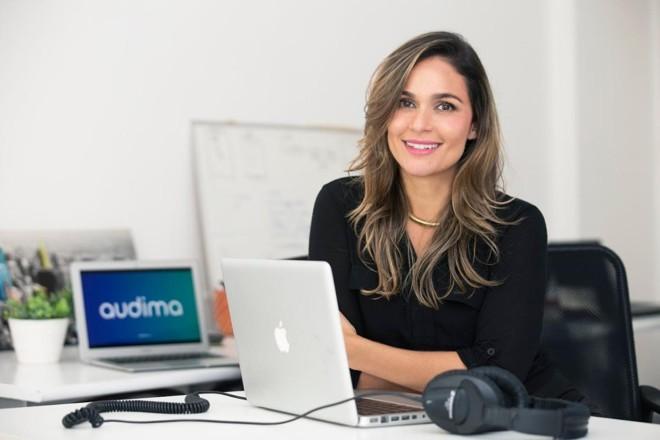 Paula Pedroza criou a startup após passar por uma aceleração no Vale do Silício | Divulgação Audima