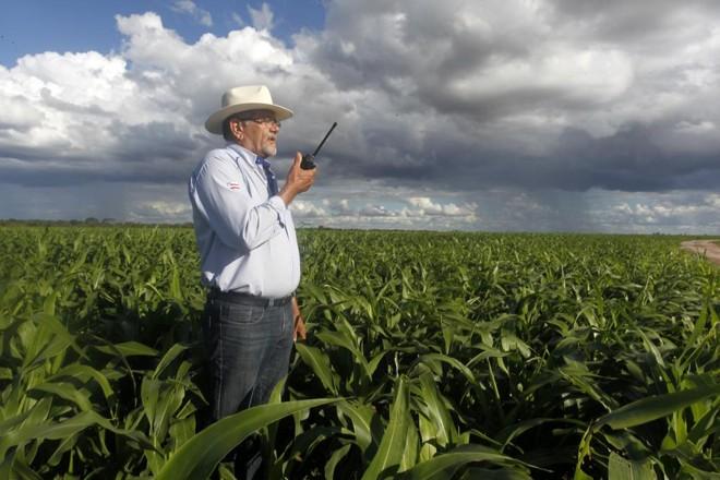 Cícero Teixeira comanda as operações da Fazenda Santo Ângelo, no município de Luis Eduardo Magalhães | Daniel Caron/Gazeta do Povo