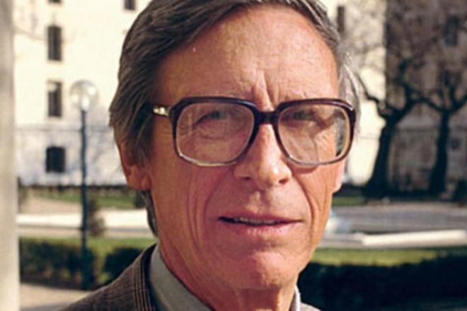 John Rawls, autor de Uma Teoria da Justiça |