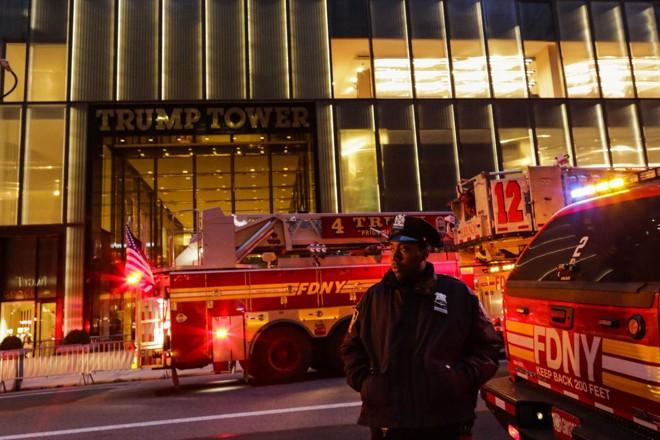 O prédio abriga a residência pessoal do presidente dos Estados Unidos, Donald Trump | EDUARDO MUNOZ ALVAREZAFP