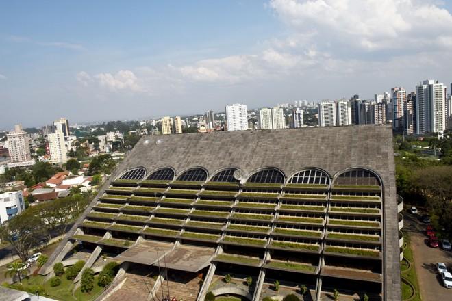 Prédio sede da Emater, em Curitiba | Divulgação/AEN-PR