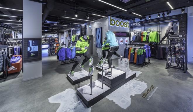 Loja da Adidas na Alemanha: marca quer diminuir rede física para apostar no e-commerce | Divulgação/Adidas