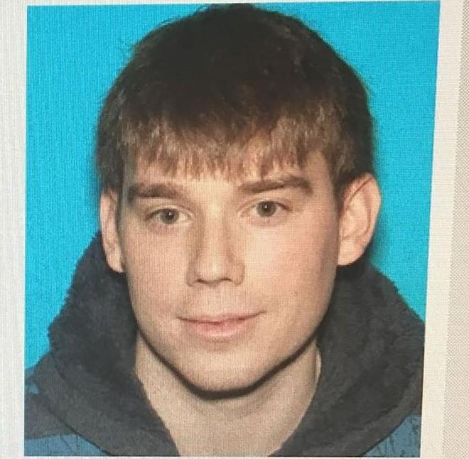 Imagem divulgada pelo Departamento da Polícia Metropolitana de Nashville mostra Travis Reinking, 29, suspeito de ter matado 4 pessoas nos EUA | JOSE ROMERO/AFP