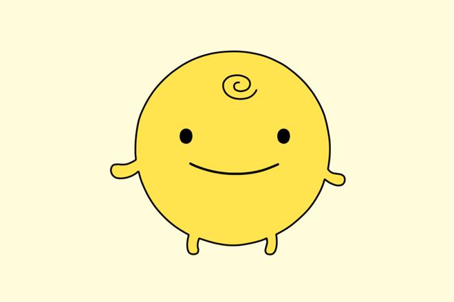 Mascote do app polêmico.   SimSimi/Divulgação