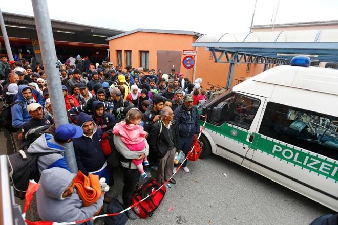 Em 2015, a Alemanha viu chegar ao país a maior onda de refugiados em sua história recente   DOMINIC EBENBICHLERREUTERS